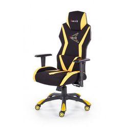 Producent: elior Fotel gabinetowy euron - czarny + żółty