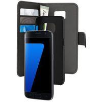Etui PURO Wallet Detachable - 2w1 do Samsung Galaxy S7 Czarny SGS7BOOKC3BLK, SGS7BOOKC3BLK