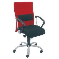 Krzesło obrotowe neo ii lu gtp9 steel02 alu - biurowe z podparciem lędźwi, fotel biurowy, obrotowy marki Nowy styl