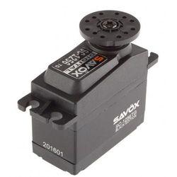 Serwo standard SW-1256TG 52,4g (20,0kg/ 0,15sec) Black edition - produkt z kategorii- Pozostałe narzędzia i