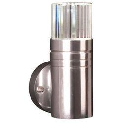 Elstead Zewnętrzna lampa ścienna gz/optica1  oprawa metalowa kinkiet led 3w do ogrodu ip54 outdoor aluminium
