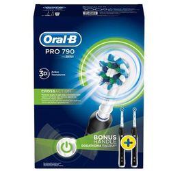Zestaw szczoteczek ORAL-B PRO 790 BK Cross Action, towar z kategorii: Szczoteczki do zębów