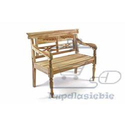 Drewniana 2-osobowa ławka dla dzieci (4025327052408)