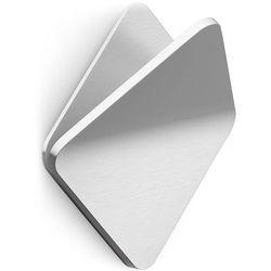 Wieszak stalowy, kwadratowy na ręcznik olfo (40348) marki Zack