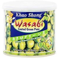 Groszek zielony z wasabi 140 g , marki Khao shong