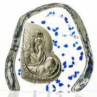 Skałka przycisk kryształowy Chrzest Święty (2089)