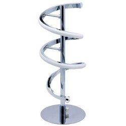 Stojąca lampka nocna simona 03289 metalowa lampa do sypialni led 10w spirala chrom marki Ideus