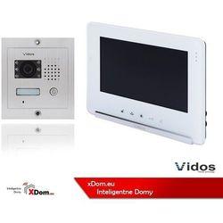 Zestaw Wideodomofonu Vidos stacja bramowa monitor 7'' S601_M690WS2
