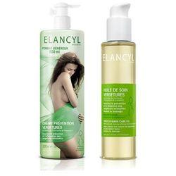 ELANCYL krem przeciw rozstępom w ciąży 500ml + ELANCYL olejek przeciw rozstępom 150ml