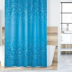Zasłona prysznicowa Mozaika niebieski, 180 x 200 cm, 233046