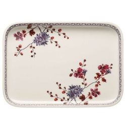 Villeroy & boch - artesano provencal lavender baking dishes prostokątny półmisek/pokrywka do zapiekania wymiary: 36 x 26 cm