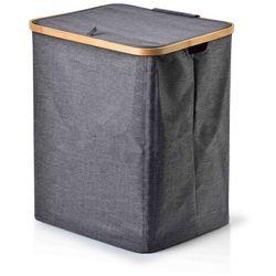 Sofa.pl Goa maxi grey kosz na pranie 35x45xh52cm
