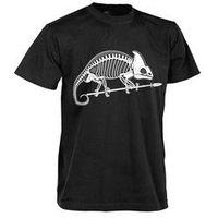 T-shirt helikon szkielet kameleona czarny (ts-skc-co-01) marki Helikon-tex / polska