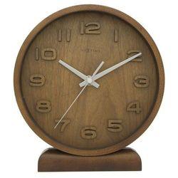 Nextime - zegar stojący wood wood small - brązowy