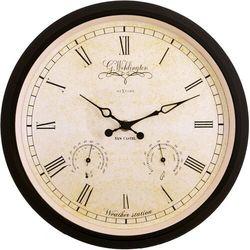 Zegar ścienny - stacja pogodowa Wehlington Weather Station Nextime 25 cm (2969) (8717713001492)