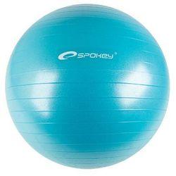 Spokey, Fitball II, piłka gimnastyczna, 75 cm, turkusowa