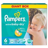 Pampers Active Baby Giant Pack+ ExLarg (4015400737155)