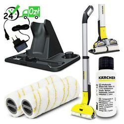 FC 3 mop bezprzewodowy (300mm, 60m2/h), Karcher ✔ZAPLANUJ DOSTAWĘ ✔SKLEP SPECJALISTYCZNY ✔KARTA 0ZŁ ✔POBRANIE 0ZŁ ✔ZWROT 30DNI ✔RATY ✔GWARANCJA D2D ✔LEASING ✔WEJDŹ I KUP NAJTANIEJ
