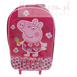 Plecak Peppa Pig walizka na kółkach Świnka Peppa new - produkt z kategorii- walizeczki