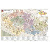 Mapa kodów pocztowych Czech