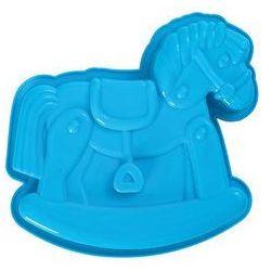 Forma do ciasta konik Pavoni niebieska