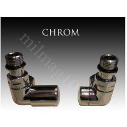 Zestaw zaworów grzejnikowych VISION lewy CHROM - sprawdź w wybranym sklepie