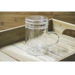 Giardino home kubek szklany 400 ml z zaparzaczem marki Giardino / home-akcesoria kuchenne