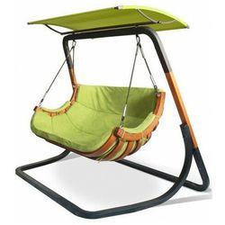 Producent: elior Zielony wiszący fotel ogrodowy z daszkiem - pasos 5x
