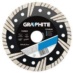 Tarcza do cięcia GRAPHITE 57H628 180 x 22.2 mm diamentowa turbo, towar z kategorii: Tarcze do cięcia