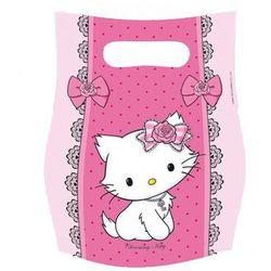 Amscan Prezentowe torebki urodzinowe charmmy kitty - 6 szt.