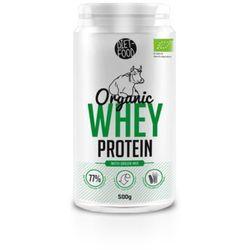 Whey Protein - Białko z serwatki z zielonymi superfoodsami Bio 500g Diet-Food