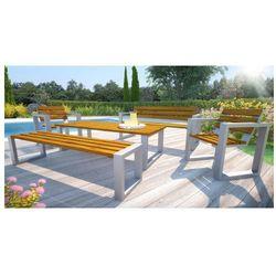 Komplet mebli ogrodowych 150cm norin - 24 kolory marki Producent: elior