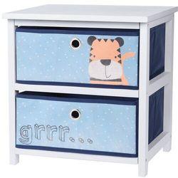 Komoda z szufladami Hatu, niebieski, 41 x 33,5 x 43 cm, 691133