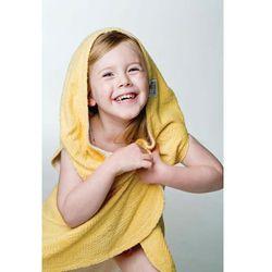 Ręcznik reluxury z kapturem i otworkami na ręce - gold od producenta Lodger