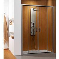 Radaway  premium plus dwd drzwi wnękowe dwuskrzydłowe 140 cm 33353-01-01n