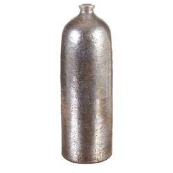 Dekoria Wazon Netherland Bottle silver prada 38cm, 38cm