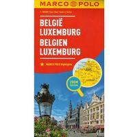 Marco Polo Mapa Samochodowa Belgia Luksemburg 1:300 000 Zoom, książka z ISBN: 9783829738217