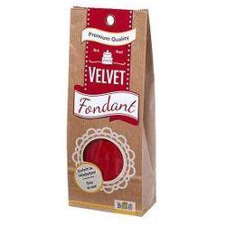 Birkmann Lukier plastyczny (fondant) velvet czerwony odbierz rabat 5% na pierwsze zakupy