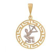 Złoty znak zodiaku Zostr - produkt z kategorii- Wisiorki i przewieszki
