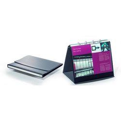 Flipchart stołowy durastar z 10 koszulkami a3 poziomy bazaltowy 8569-39 marki Durable