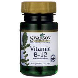 Witamina B-12 B12 500mcg 30kaps - produkt farmaceutyczny