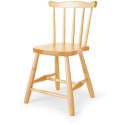 Krzesło dziecięce anna, 370 mm, brzoza marki Aj produkty