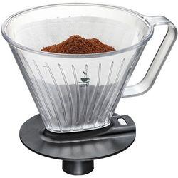 Gefu Filtr do kawy z przezroczystego tworzywa, efektywny dodatek pomocny przy parzeniu ulubionego napoju (4006664160018)