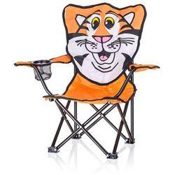 krzesełko składane dziecięce tygrys, marki Happy green