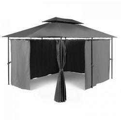 Blumfeldt Grandezza pawilon ogrodowy namiot imprezowy 3x4m stal poliester ciemnoszary (4260435917984)