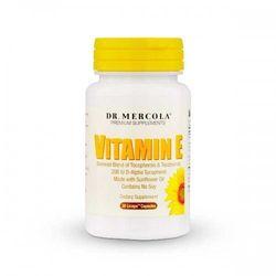 WITAMINA E TOKOTRIENOLE + TOKOFEROLE DR MERCOLA 30kp, produkt z kategorii- Witaminy i minerały