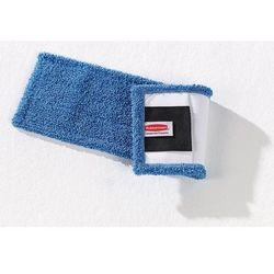 Mop do wycierania z mikrowłókien, opak. 10 szt. z kieszeniami i łącznikami, nieb