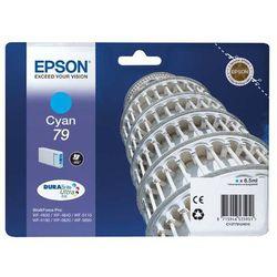 Epson oryginalny ink C13T79124010, 79, L, cyan, 800s, 7ml, 1szt, Epson WorkForce Pro WF-5620DWF, WF-5110DW, WF