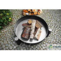 Korono Grill na trójnogu z rusztem ze stali czarnej + palenisko ogrodowe 70 cm / 80 cm, kategoria: grille