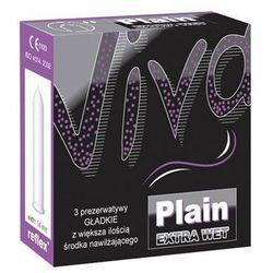 Gładkie prezerwatywy viva plain 3 szt. 046099 wyprodukowany przez Richter rubber